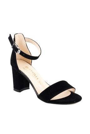 Ayakland Siyah Kadın Topuklu Ayakkabı 18A02158