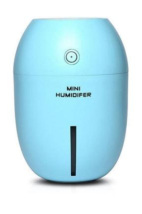Gomax Limon Tipi Mini Hava Nemlendirici Buhar Makinesi Mavi