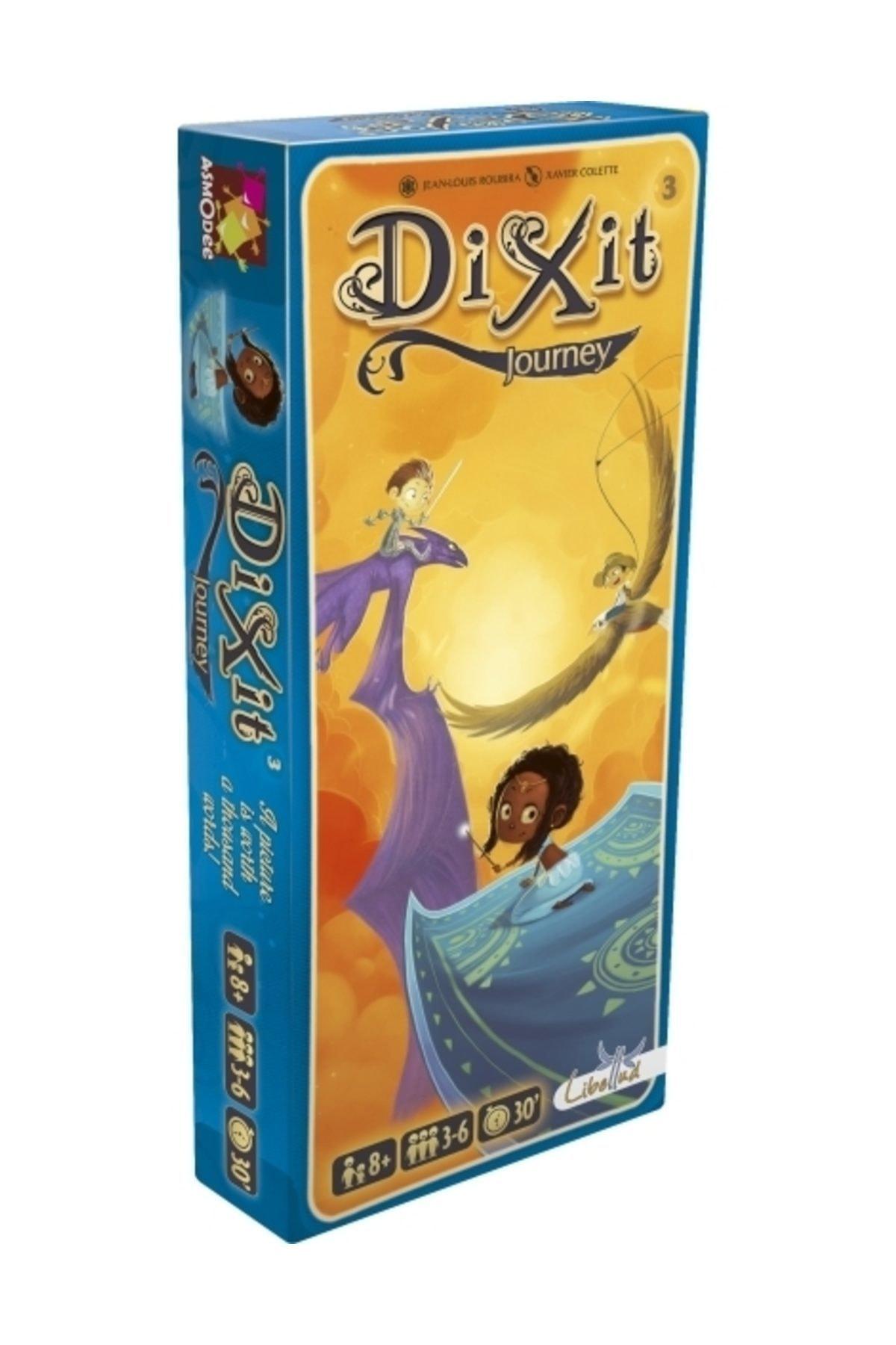 Asmodee DiXit 3 Journey (Yolculuk Kartları) 1