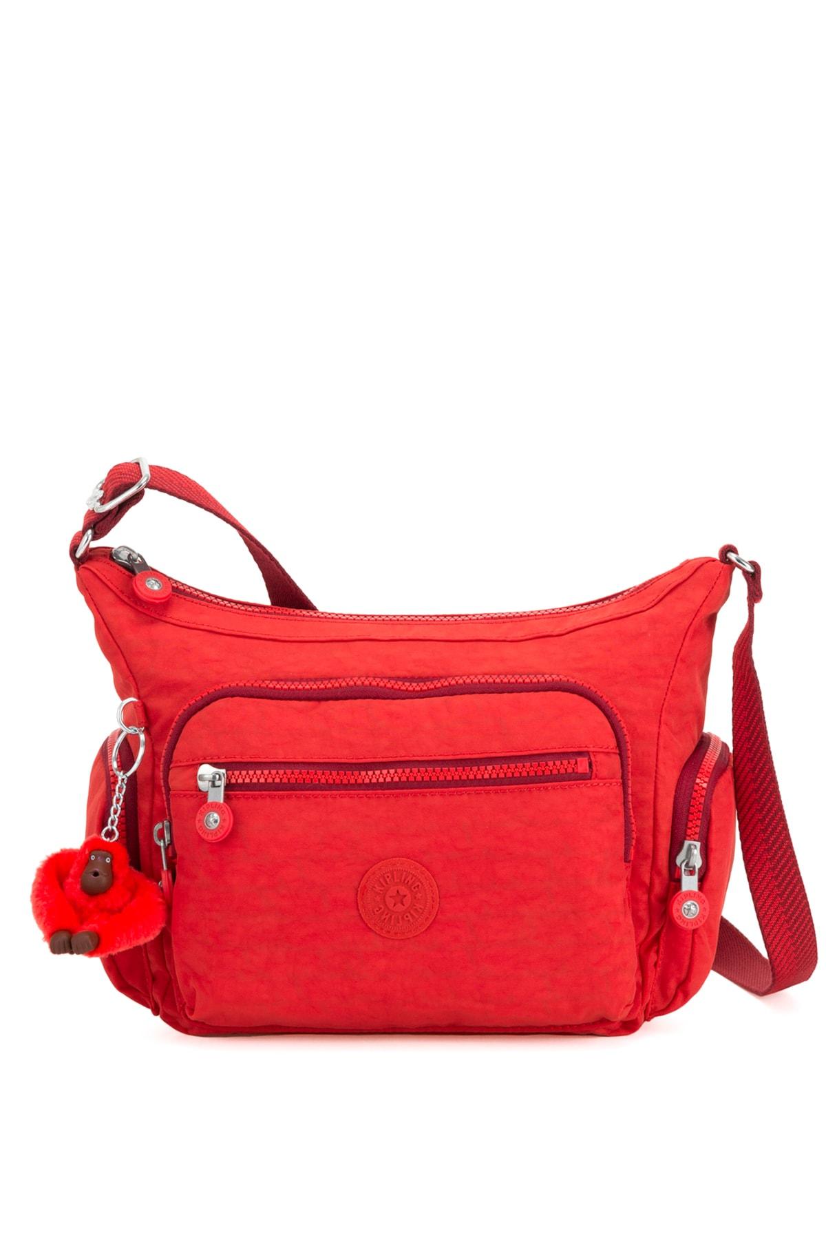 Kipling Kadın Active Red Omuz Çantası 19Y.KDN.CPR.MEB.0031 1