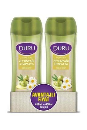 Duru Natural Olive Papatya Duş Jeli 450 ml & 450 ml