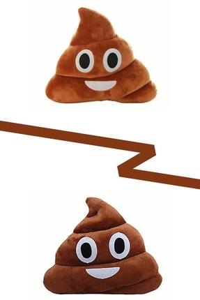Vivyan Gülen Poo Emoji Yastık Sevimli Emoji Yastık Peluş Oyuncak Yastık