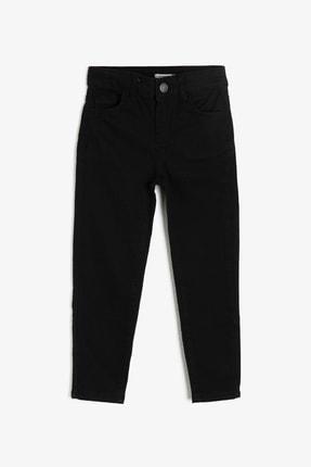 Koton Kids Siyah Cep Detaylı Erkek  Çocuk Jean Pantolon 0YKB46277DD