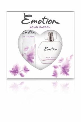 Emotion Asian garden Edt Deodorant Kadın Parfüm Seti 50 ml + 150 ml