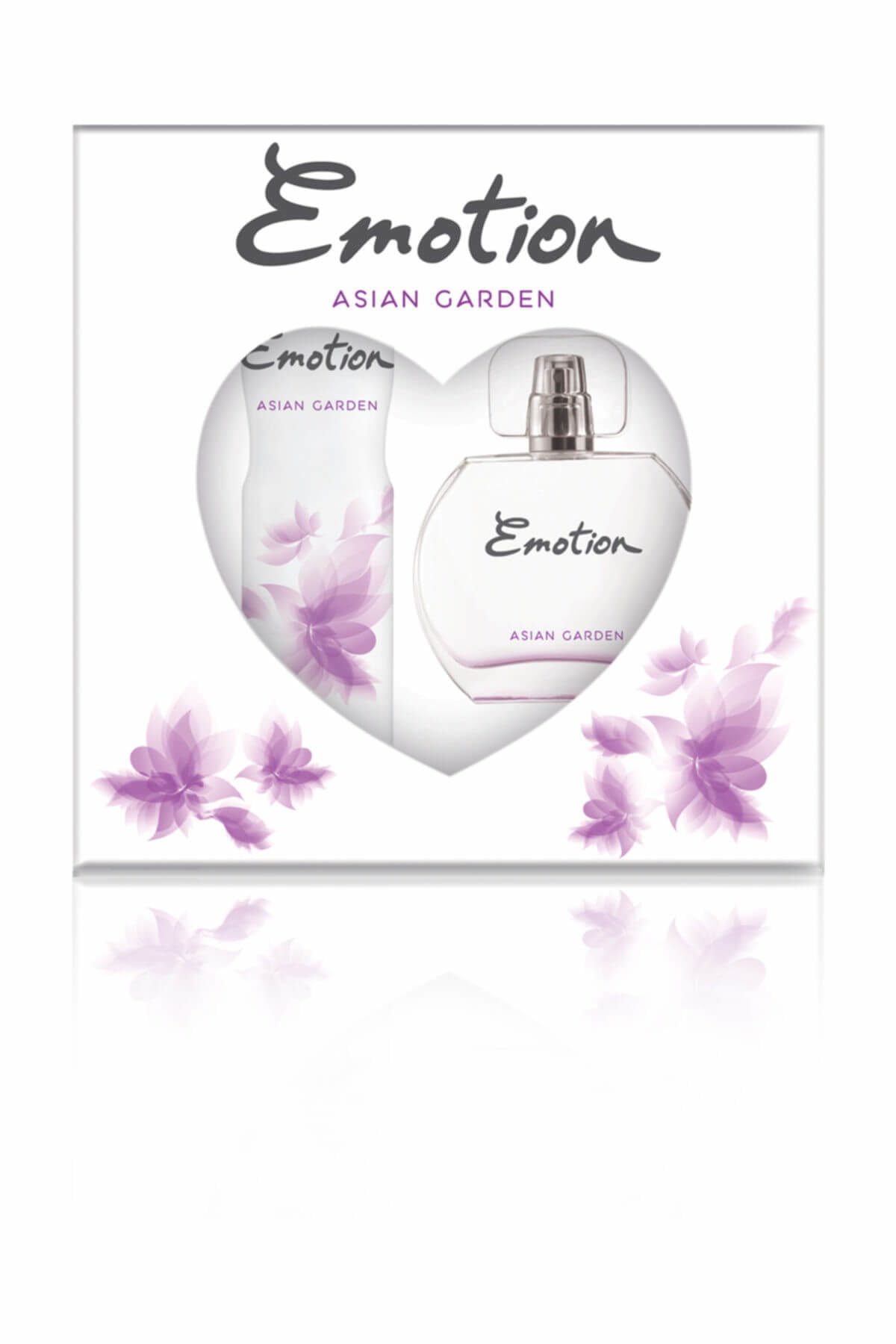 Emotion Asian garden Edt Deodorant Kadın Parfüm Seti 50 ml + 150 ml 1