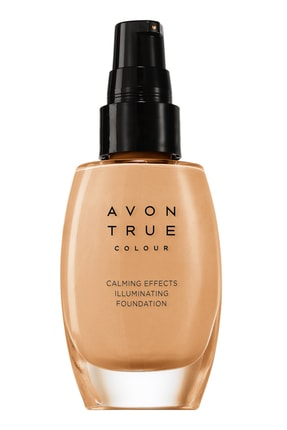 AVON Fondöten - Calming Effects Mattifying Foundation Almond 30 ml 8681298930310