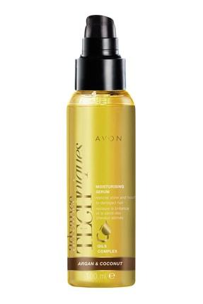 AVON Argan ve Hindistan Yağlı Saç Serumu 100 ml 5050136779597