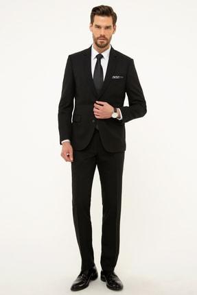 Pierre Cardin Erkek Siyah Slim Fit Takım Elbise G021GL001.000.873828