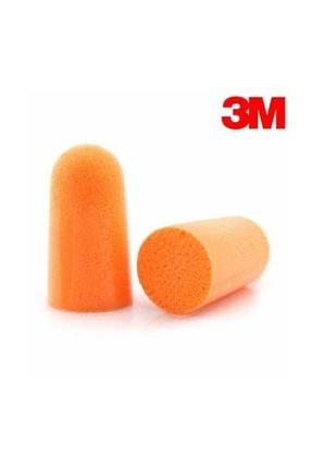 3M Orijinal 1100 Kulak Tıkacı Gürültü Ses Önleyici Koruyucu 1 çift