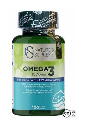 Nature's Supreme Omega 3 1000 Mg 100 Kapsül