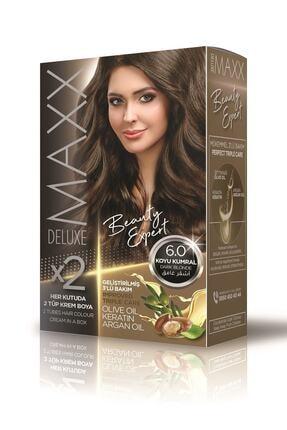MAXX DELUXE Beauty Expert 6.0 Koyu Kumral Set Boya