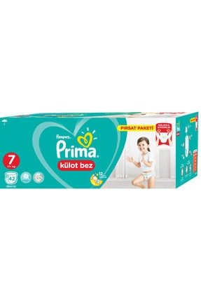 Prima Külot Bez 7 Beden Fırsat Paketi 42 Adet