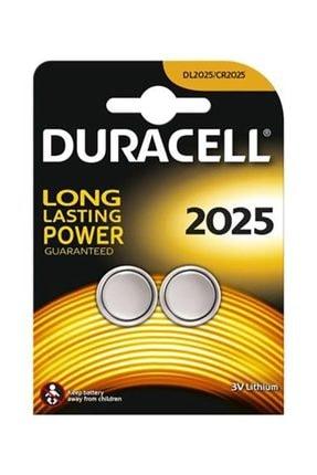 Duracell Lithium Pil 2 Li 2025 3v Dl2025/cr2025
