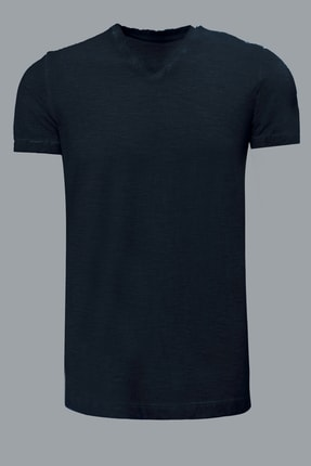 Lufian Geras Basic T- Shirt GRİ - 111020008100150