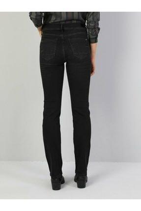 Colin's 792 Mıla Regular Fit Orta Bel Düz Paça Kadın Siyah Jean Pantolon