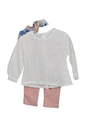 MonaRoza 3 Lü Takım Kız Bebek Giyim 17033