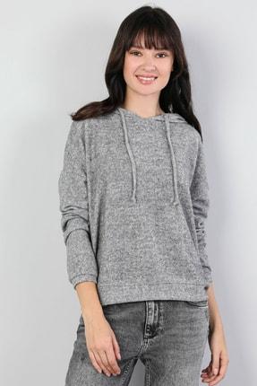 Colin's Gri Kadın Tshirt U.kol CL1045075