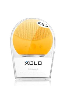 xolo Sarı Şarj Edilebilir Silikon Yüz Temizleme Cihazı ve Masaj Aleti 8816581011697