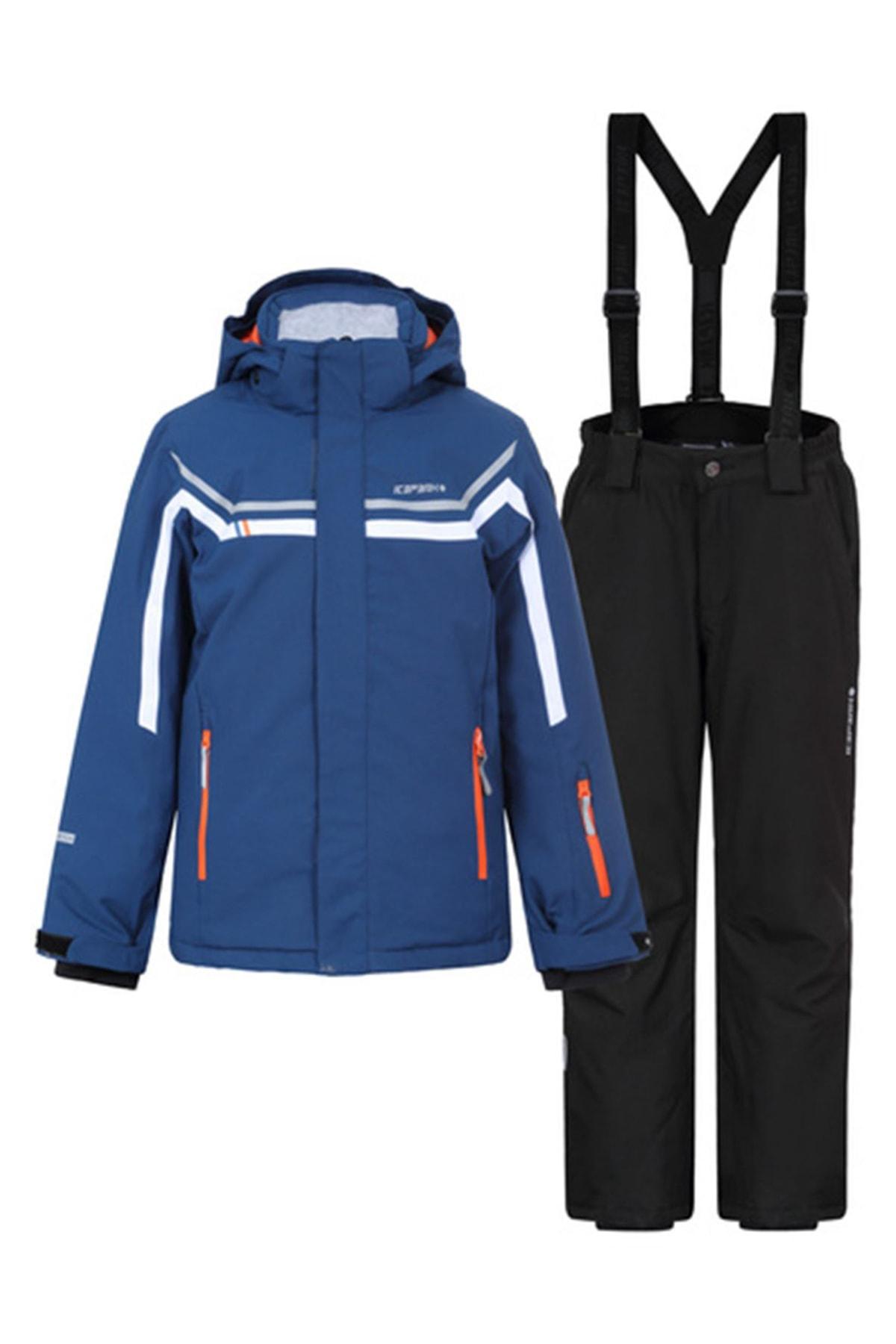 Icepeak Lacivert Çocuk Kayak Takımı 52129-839-365 Harel Jr 1