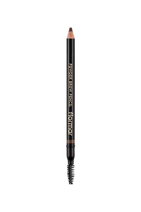 Flormar Kaş Kalemi - Powder Brow Pencil Medium Brown 03 8690604634224
