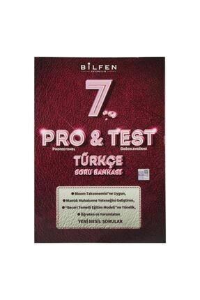 Bilfen Yayıncılık 7.Sınıf Türkçe Pro Test Soru Bankası