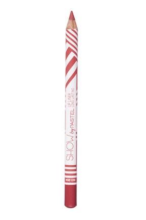 Pastel Dudak Kalemi - Show By Long Lasting Lip Pencil No 204 8690644009556