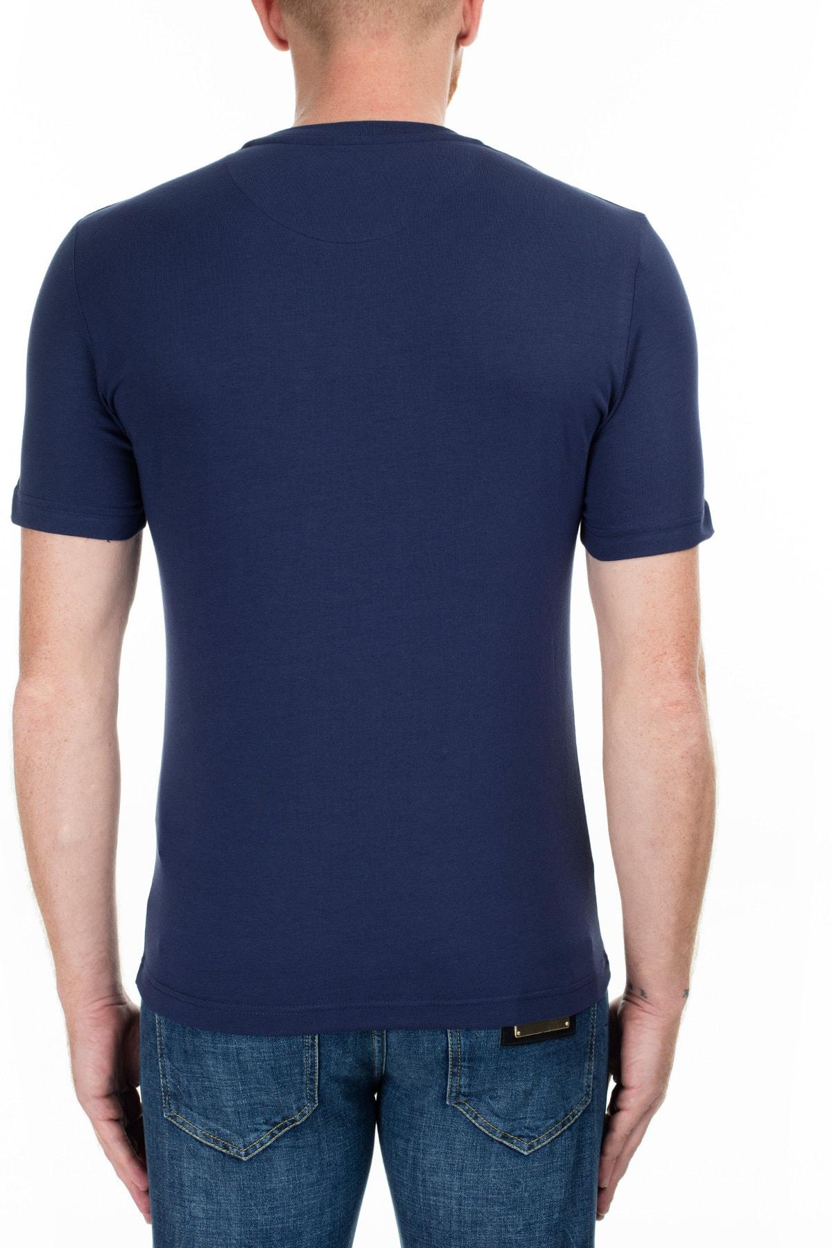 Love Moschino Erkek Lacivert T-Shirt S M47312Ie1811 Y61 2