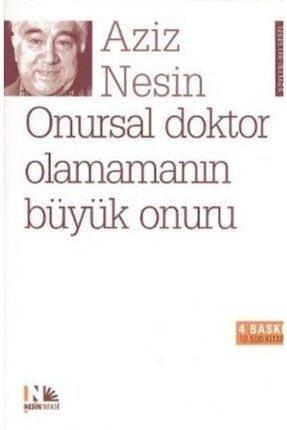 Nesin Yayınları Onursal Doktor Olamamanın Büyük Onuru / Aziz Nesin /