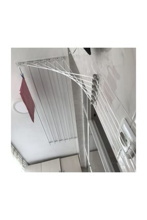 LYRA Asansörlü Çamaşırlık 6 Çubuklu 160 cm