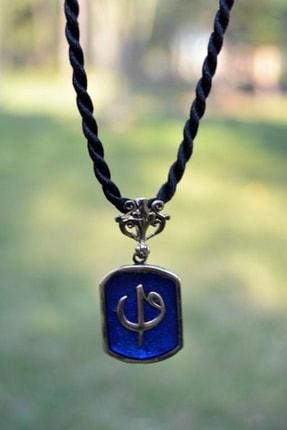 Stoneage Jewellery Elif Ve Vav Figürlü Bayan Kolye