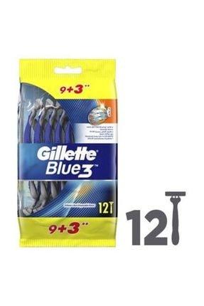 Gillette Blue 3 Bıçak 12'li Paket