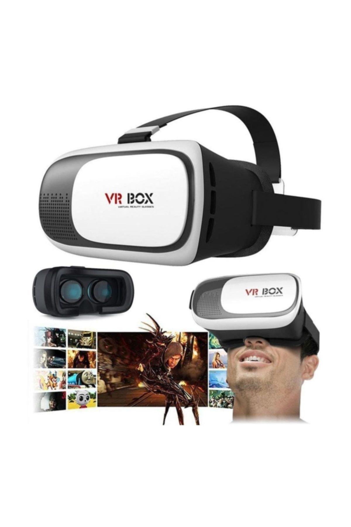 VR BOX 3d  Sanal Gerçeklik Gözlüğü 3dvr 2