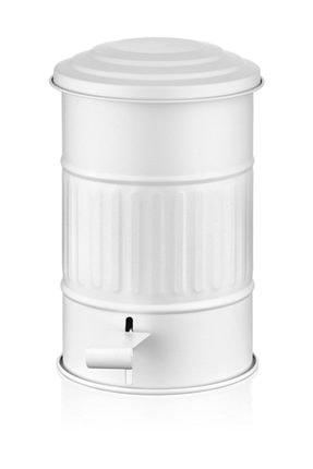 The Mia Çöp Kovası Banyo - Beyaz Glv 0311