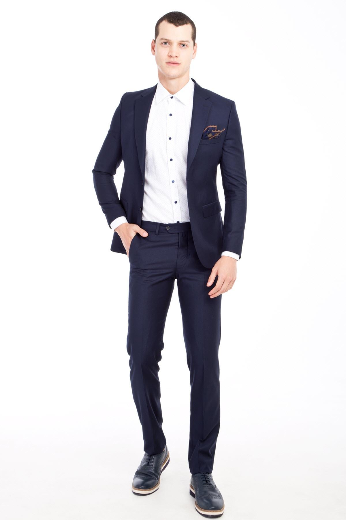 Kiğılı Slim Fit Takım Elbise 1