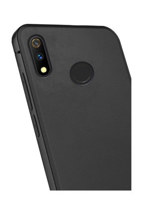 Microcase Realme 3 Pro Elektrocase Serisi Kamera Korumalı Silikon Kılıf - Siyah