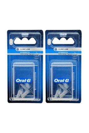 Oral-B Oral B Arayüz Fırçası Yedek Başlık Eğimli 3.0/6.5mm 6'lı X 2 Adet