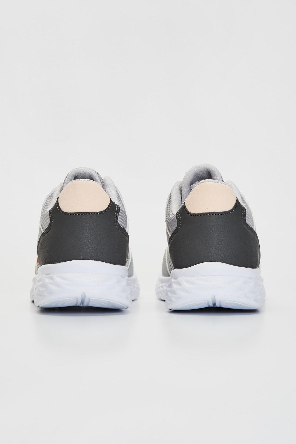 LC Waikiki Kadın Gri Sneaker 9WU760Z8 2