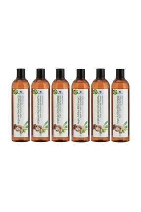 Hunca Care Argan Yağlı Şampuan   6 Adet 700 ml.