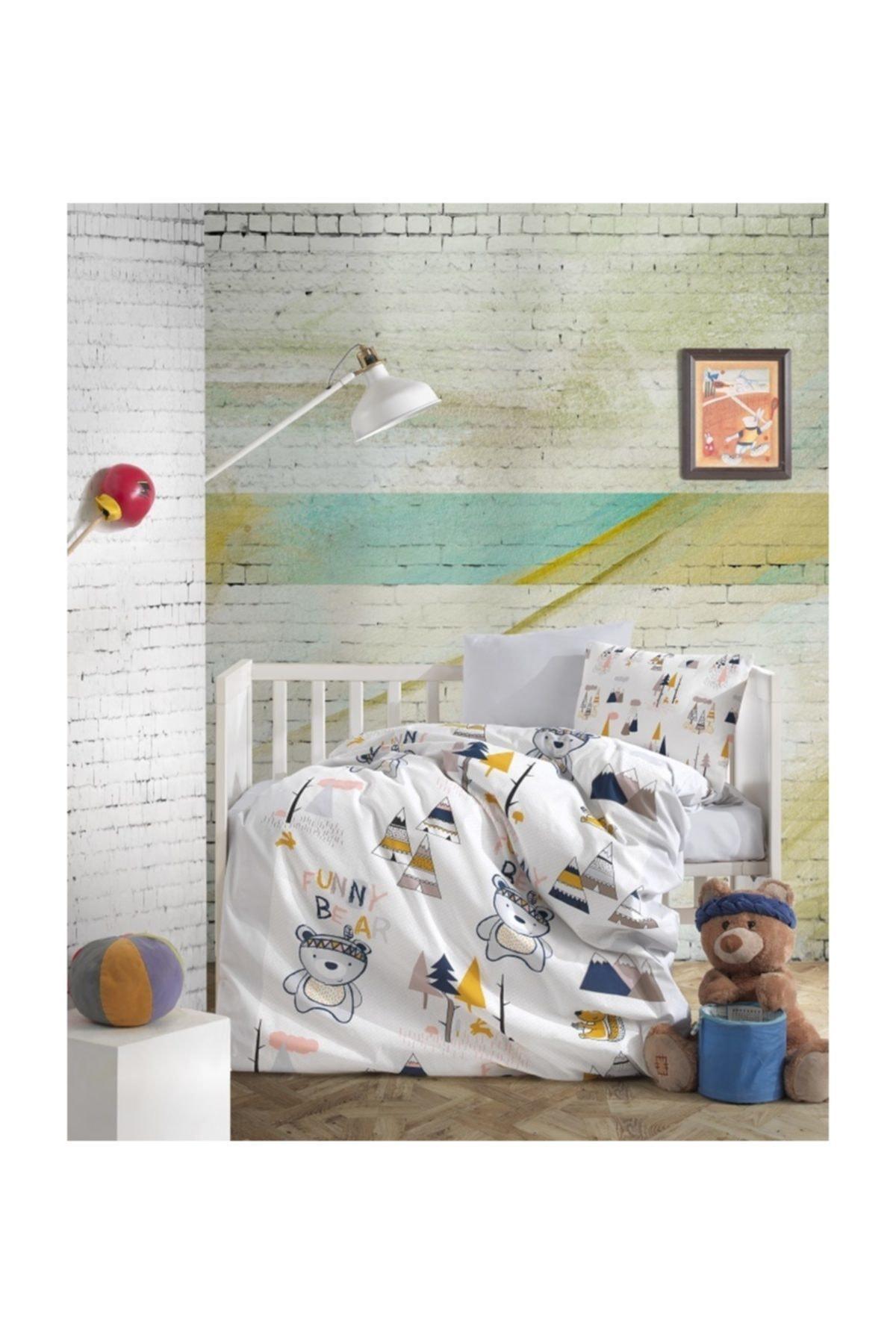 Minteks Bebe Uyku Seti Camp Bear 1