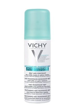 Vichy Anti-transpirant 48h Sprey Deodorant - Terleme Ve Kötü Kokulara Karşı Etkinlik 125 Ml