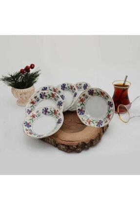 Kütahya Porselen 6'lı Porselen Çay Tabağı
