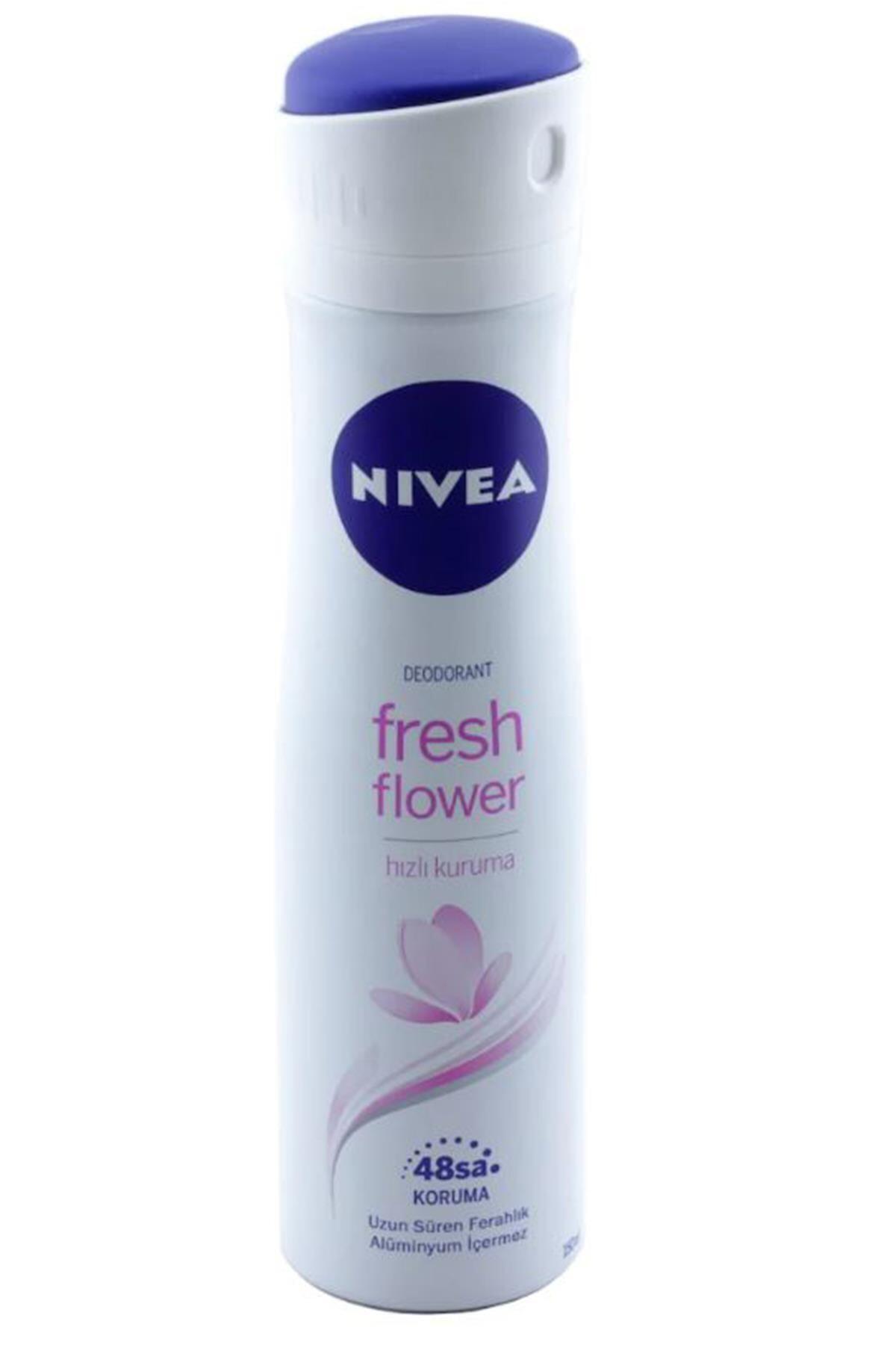 Nivea Fresh Flower 150 ml Kadın Deodorant 4005900641045 1