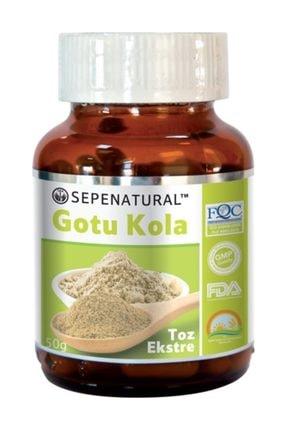 Sepe Natural Gotu Kola Extract Gotu Kola Toz Ekstrakt Ekstresi 50 gr