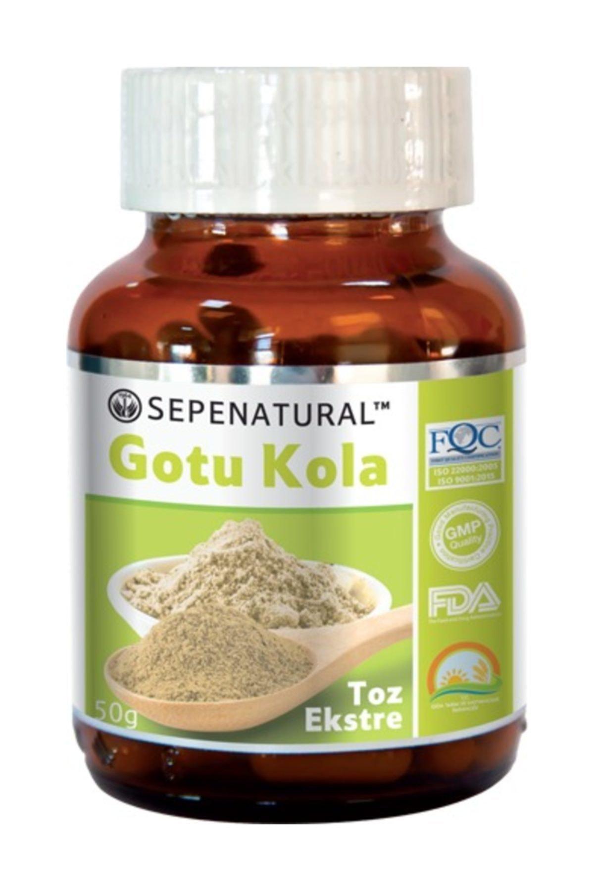 Sepe Natural Gotu Kola Extract Gotu Kola Toz Ekstrakt Ekstresi 50 gr 1