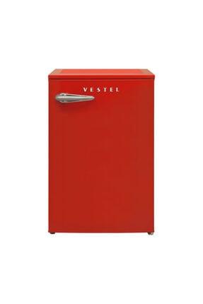 Vestel Retro SB14001 Kırmızı Mini Buzdolabı