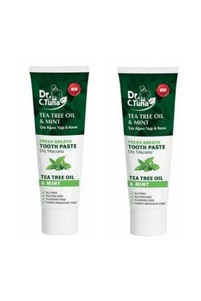 Farmasi Dr. C. Tuna Çay Ağacı Yağı Ve Naneli Diş Macunu 112 G 2 Adet