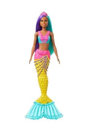 Barbie Dreamtopia Deniz Kızı Bebekler - Esmer - Gjk10