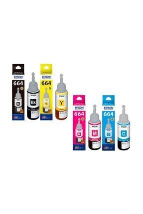 EPSON Ecotank L3050 4 Renk Takım Orijinal Mürekkep Kartuş