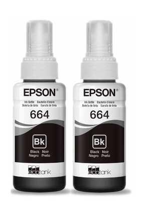 EPSON Baskistan 664 Siyah Mürekkep (2 ADET)