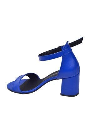 Ayakland 2013-05 Cilt 7 Cm Topuk Bayan Sandalet Ayakkabı